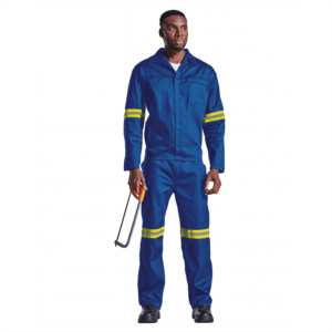 CONTRACT POLY COTTON CONTI SUIT WITH REFLECTIVE TAPE