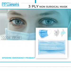 3 PLY NON SURGICAL MASK