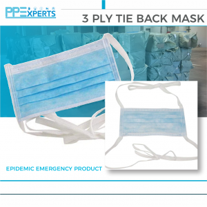 3 PLY TIE BACK MASK