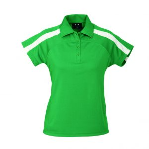 Monte Carlo Ladies Golf Shirt - Green Only