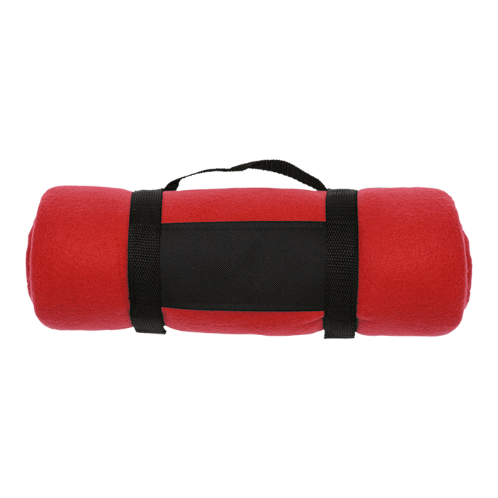 Promo Fleece Blanket with Carry Strap