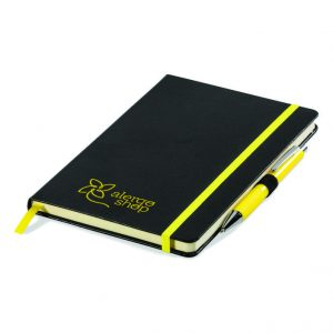 Fourth Estate A5 Notebook - Yellow Only