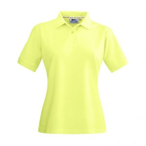 Crest Ladies Golf Shirt - Yellow Only